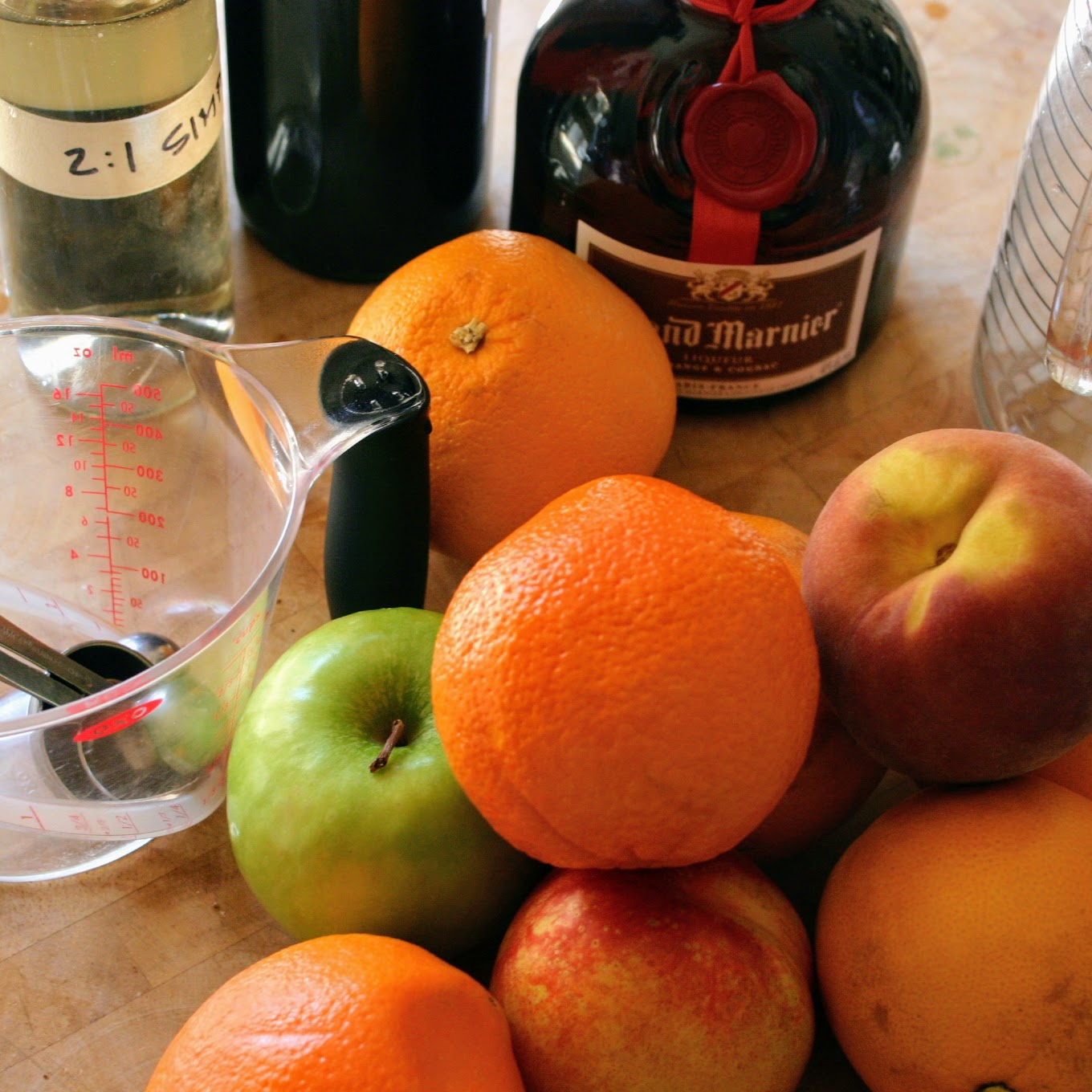 Sangria ingredients
