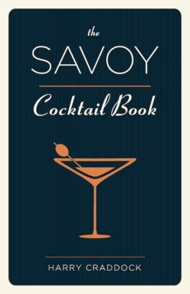Cover of The Savoy Cocktail Book by Harry Craddock