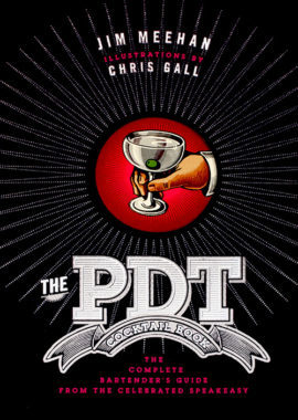 Cover of The PDT Cocktail Book by Jim Meehan